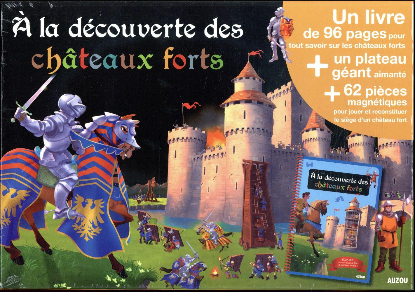 A LA DECOUVERTE DES CHATEAUX FORTS LE LOARER/EL GU Auzou