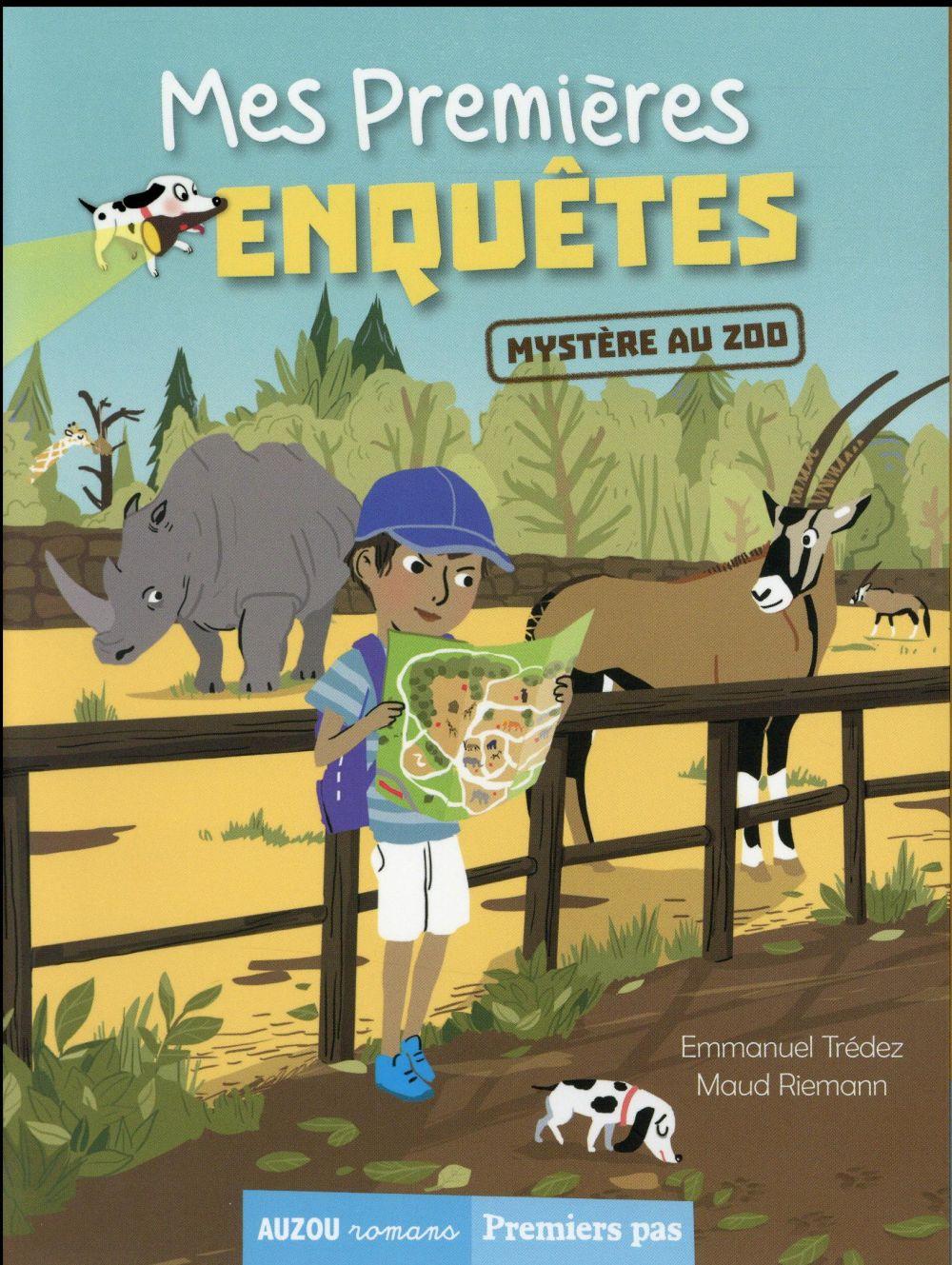 MES PREMIERES ENQUETES - TOME 2 - MYSTERE AU ZOO Trédez Emmanuel Auzou