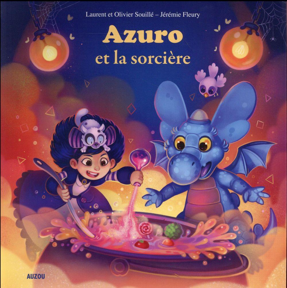 AZURO ET LA SORCIERE JEREMIE FLEURY / LAU Auzou