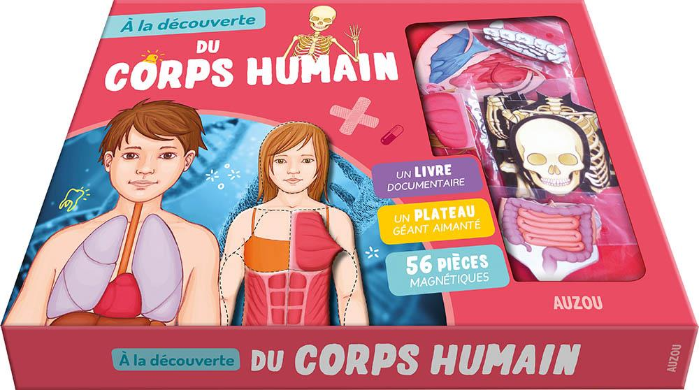 A LA DECOUVERTE DU CORPS HUMAIN (2E EDITION) PEDROLA, ADELE  Auzou