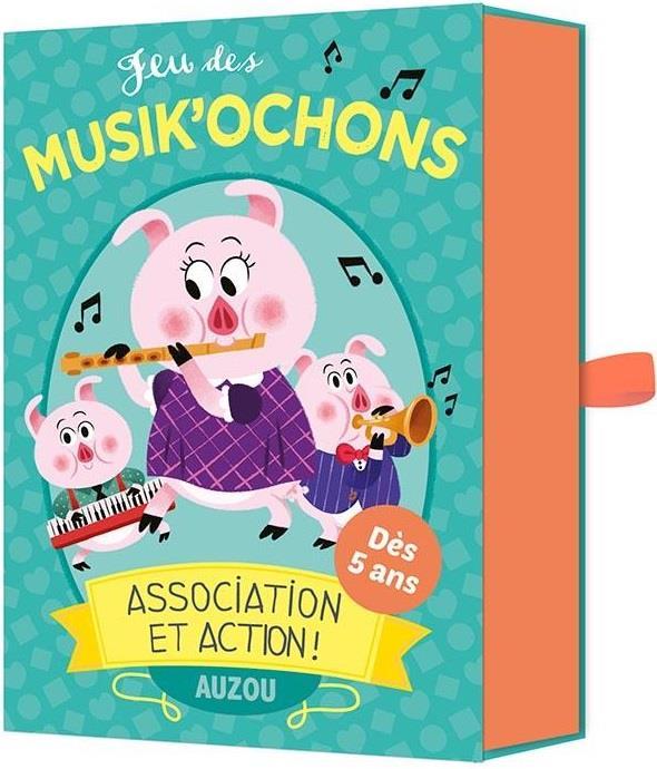 JEU DES MUSIK'OCHONS - ASSOCIATION ET ACTION !