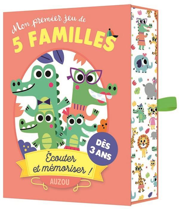 MON PREMIER JEU DE 5 FAMILLES