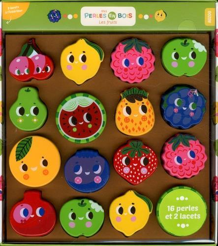 MES PERLES EN BOIS - LES FRUITS