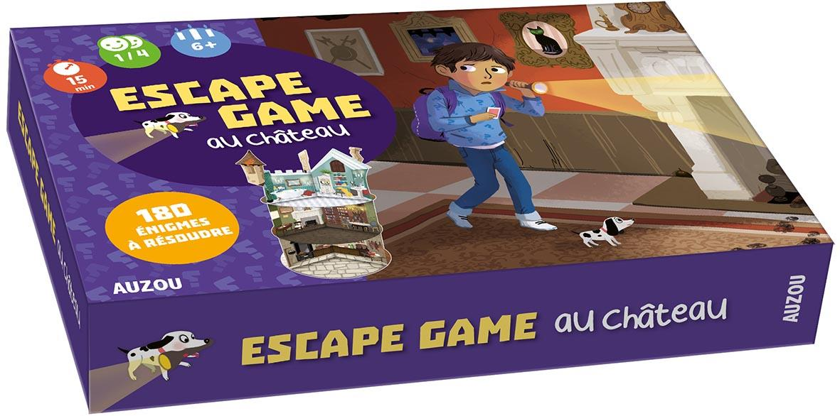 MON GRAND JEU - ESCAPE GAME AU CHATEAU - 180 ENIGMES A RESOUDRE