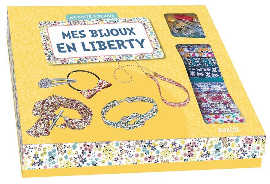 MES BIJOUX EN LIBERTY (NOUVELLE EDITION) - 8 BIJOUX MATHILDE PARIS/SHIIL Lgdj