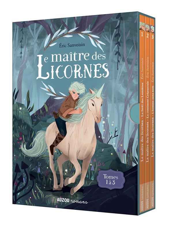 LE MAITRE DES LICORNES  -  COFFRET T.1 A T.3