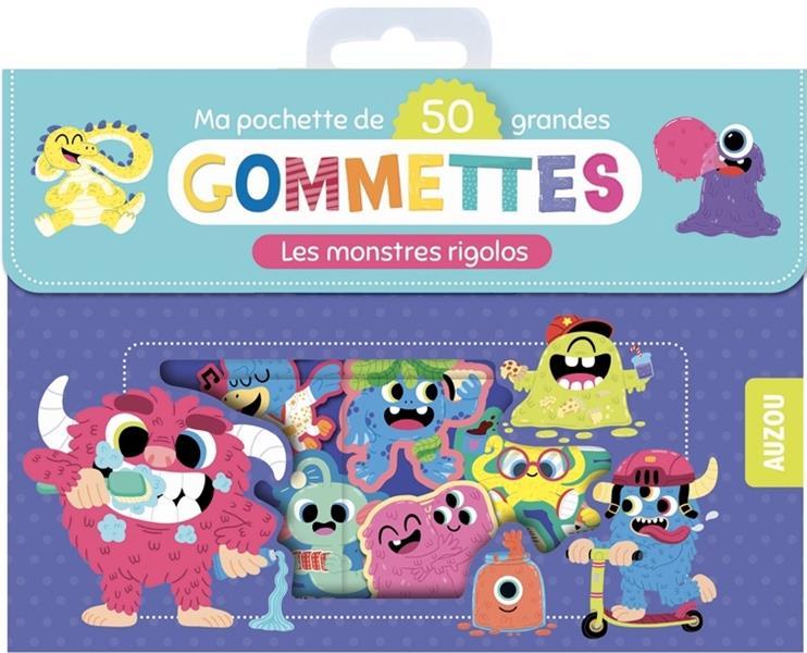 MA POCHETTE DE GOMMETTES  -  MONSTRES RIGOLOS