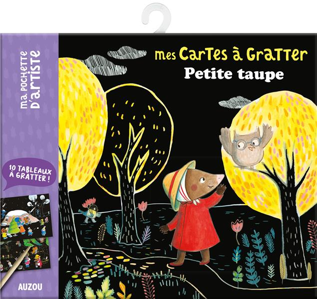 PETITE TAUPE  -  MES CARTES A GRATTER