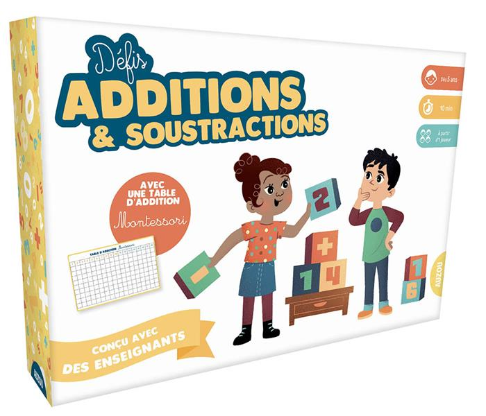 DEFIS ADDITIONS ET SOUSTRACTIONS