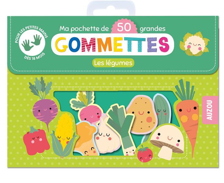 MA POCHETTE DE GOMMETTES  -  LES ANIMAUX DE LA JUNGLE