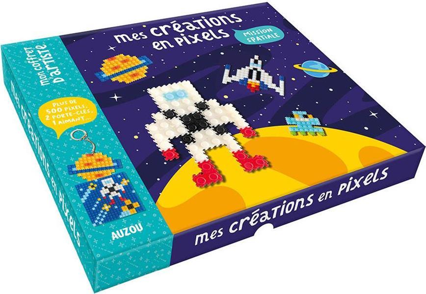 MES CREATIONS EN PIXELS  -  MISSION SPATIALE