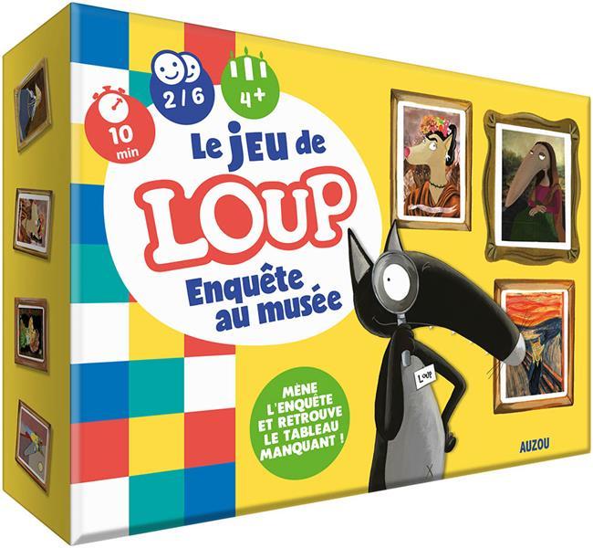 LE LOUP  -  JEU  -  ENQUETE AU MUSEE