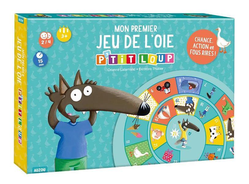 P'TIT LOUP - JEU DE L'OIE - CHANCE, ACTION ET FOUS RIRES !