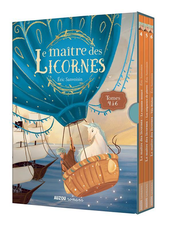 LE MAITRE DES LICORNES  -  COFFRET TRILOGIE  -  TOMES 4 A 6 FEDERICA FRENNA / ER PHILIPPE AUZOU
