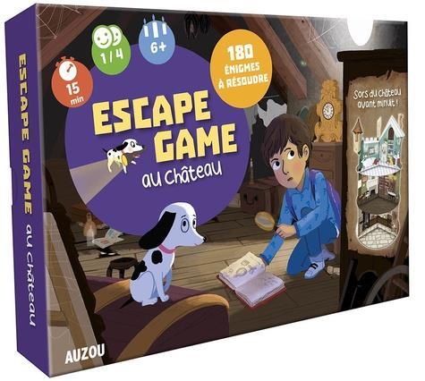 GRAND JEU  -  ESCAPE GAME AU CHATEAU