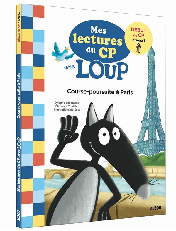 MES LECTURES DU CP AVEC LOUP  -  PARIS LALLEMAND/THUILLIER PHILIPPE AUZOU