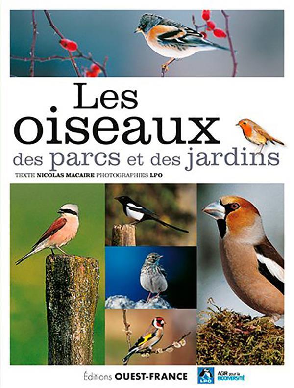 LES OISEAUX DES PARCS ET DES JARDINS  OUEST FRANCE