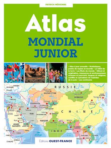 ATLAS MONDIAL JUNIOR MERIENNE PATRICK OUEST FRANCE