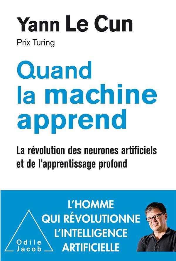 - QUAND LA MACHINE APPREND - LA REVOLUTION DES NEURONES ARTIFICIELS ET DE L'APPRENTISSAGE PROFOND