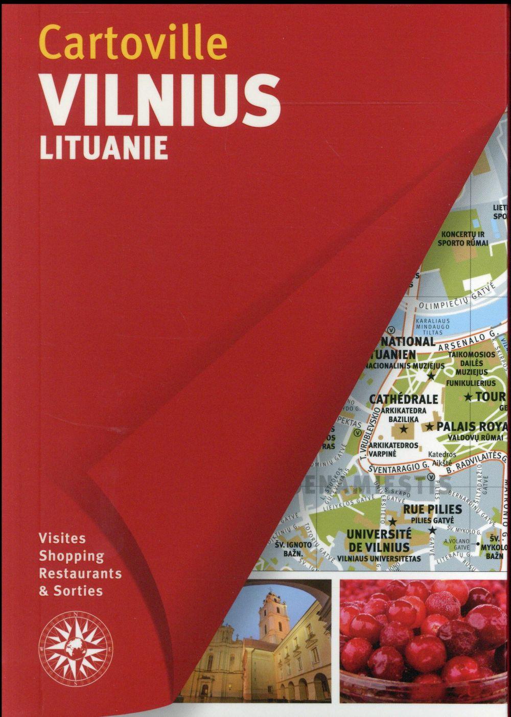 VILNIUS - LITUANIE COLLECTIF Gallimard loisirs