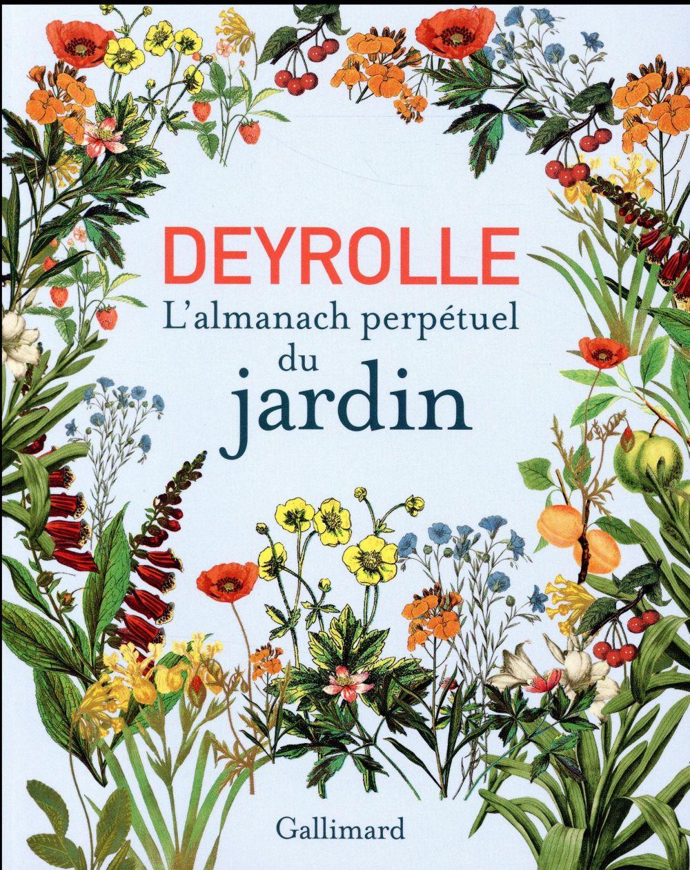 DEYROLLE, L'ALMANACH PERPETUEL DU JARDIN