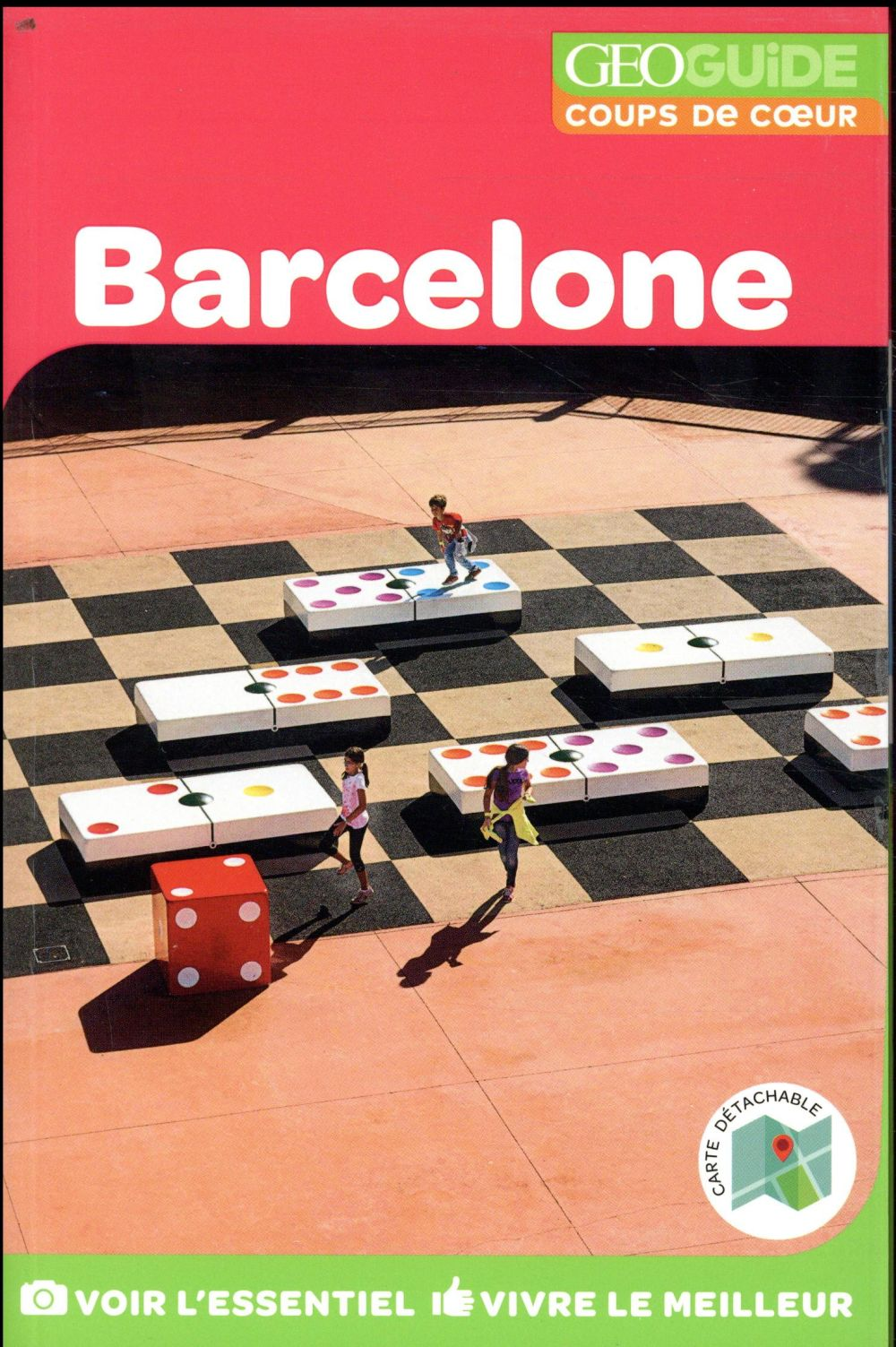 GEOGUIDE COUPS DE COEUR  -  BARCELONE (EDITION 2018) COLLECTIF Gallimard-Loisirs