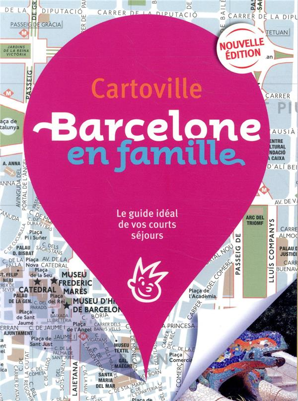 BARCELONE EN FAMILLE (EDITION 2019) COLLECTIF Gallimard-Loisirs