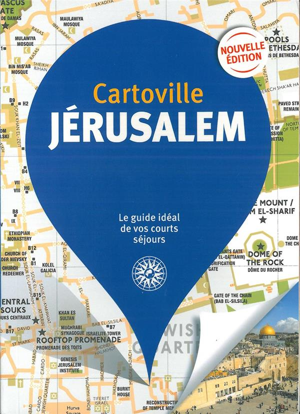 JERUSALEM (EDITION 2019) COLLECTIF Gallimard-Loisirs