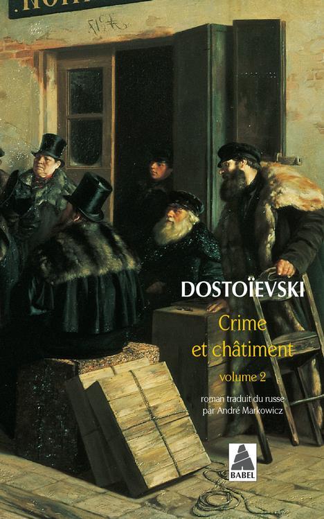 CRIME ET CHATIMENT V2 (NE) BAB DOSTOIEVSKI FEDOR MI ACTES SUD