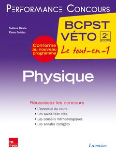 Baude Svélana - PHYSIQUE 2E ANNEE BCPST-VETO (COLLECTION LE TOUT-EN-1)