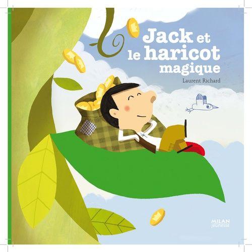 JACK ET LE HARICOT MAGIQUE RICHARD-L BD Kids