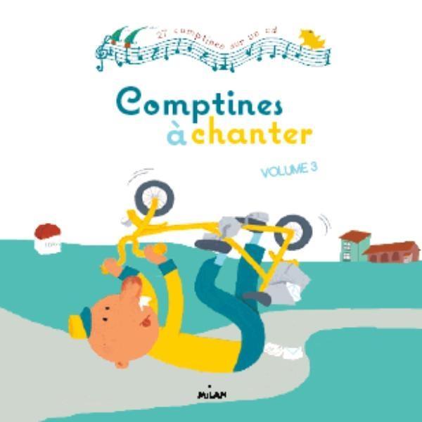 COMPTINES A CHANTER T.3 (EDITION 2012) BERKANE/BOURGEAU BD Kids