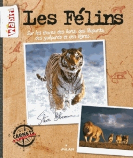 CARNETS D'EXPEDITIONS (EX : MY BIG CATS JOURNAL)