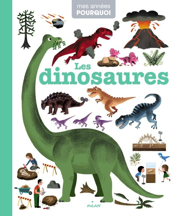 LES DINOSAURES HEDELIN/BALICEVIC Milan jeunesse