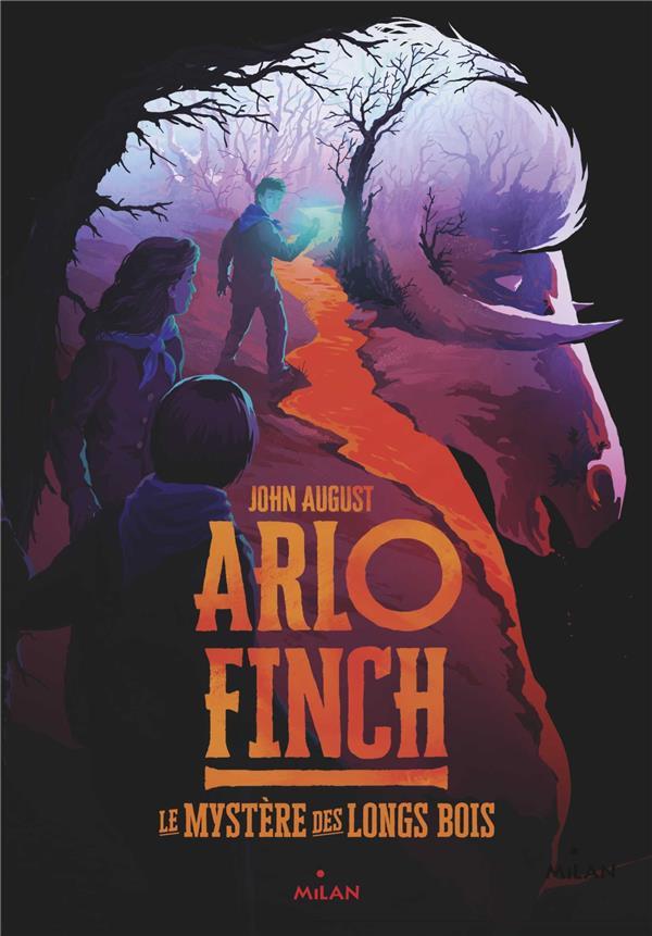 ARLO FINCH T.1  -  LE MYSTERE DES LONGS BOIS AUGUST JOHN BD Kids