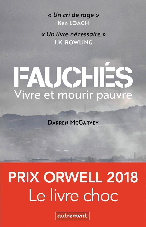FAUCHES - VIVRE ET MOURIR PAUV MCGARVEY DARREN AUTREMENT