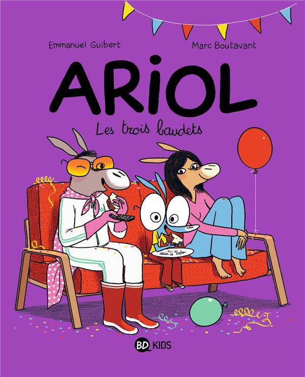 ARIOL, TOME 08 - LES TROIS BAUDETS