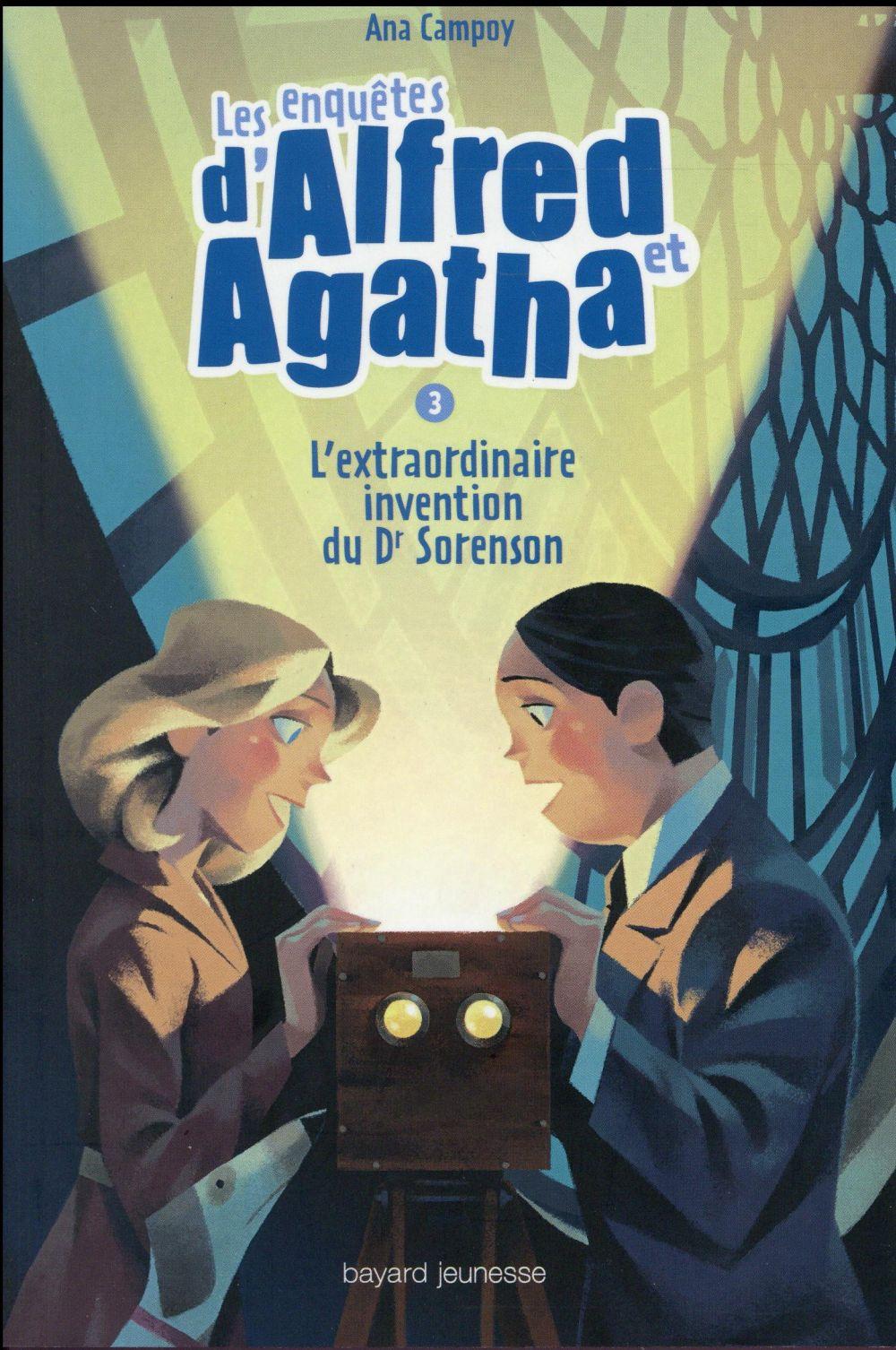 Les enquêtes d'Alfred et Agatha La boîte magique Vol.3