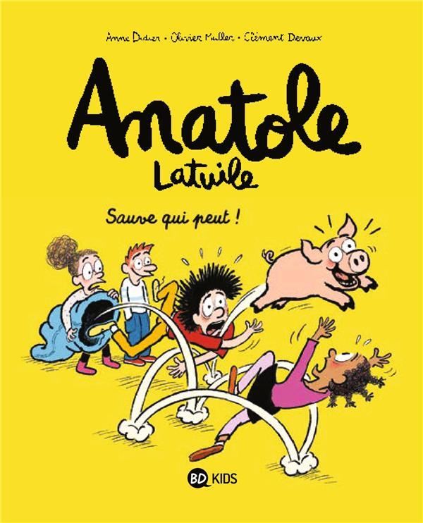 ANATOLE LATUILE, TOME 10 Devaux Clément BD Kids