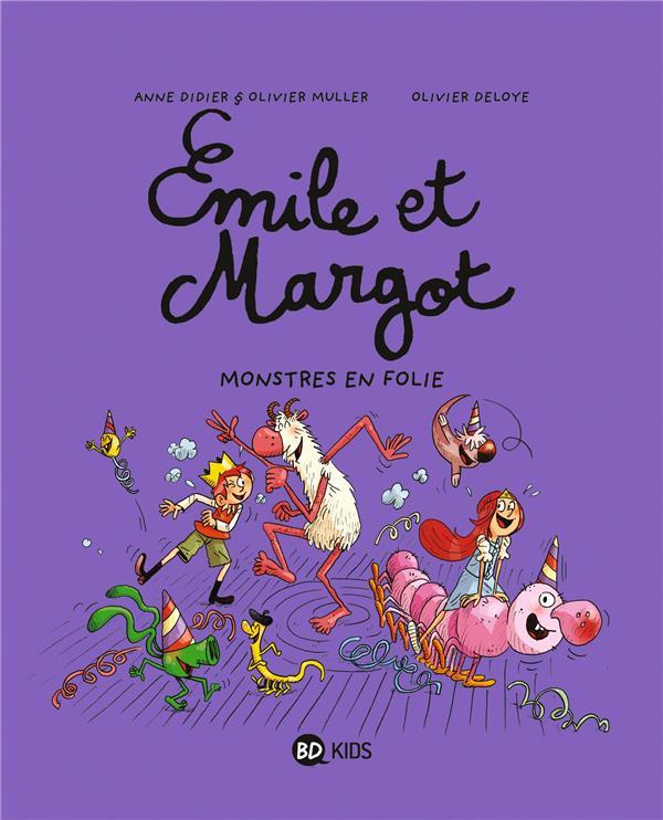EMILE ET MARGOT, TOME 07 - MONSTRES EN FOLIE ! Deloye Olivier BD Kids