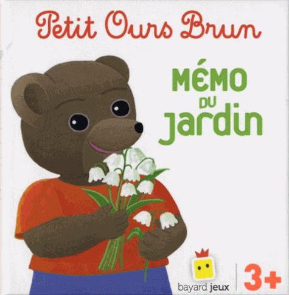 PETIT OURS BRUN  -  MEMO DU JARDIN BOUR DANIELE Bayard Jeunesse