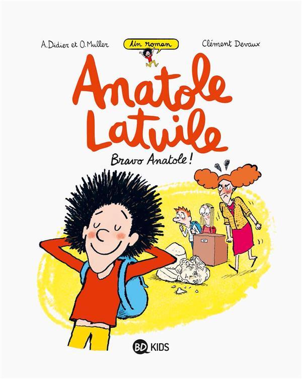 ANATOLE LATUILE ROMAN, TOME 01 Muller Olivier BD Kids