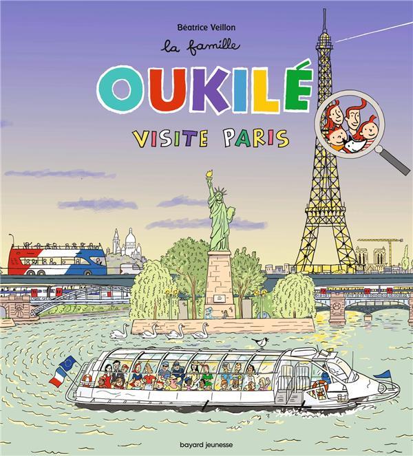 LA FAMILLE OUKILE  -  VISITE PARIS VEILLON, BEATRICE BAYARD JEUNESSE