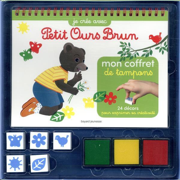 MON COFFRET DE TAMPONS PETIT OURS BRUN