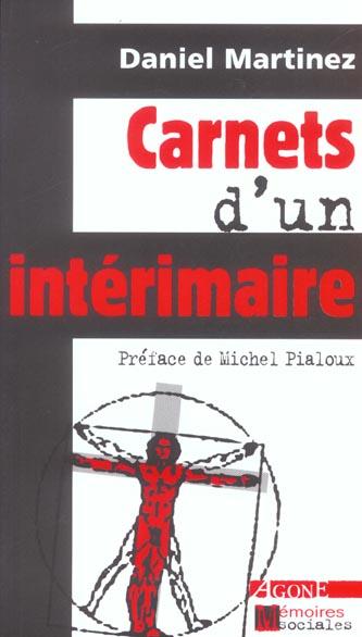 CARNETS D-UN INTERIMAIRE