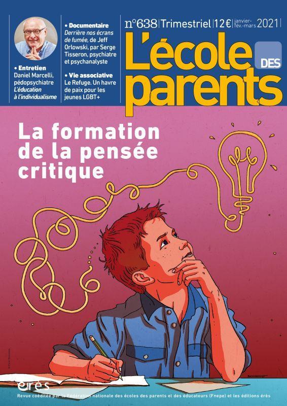 L'ECOLE DES PARENTS N.638  -  LA FORMATION DE LA PENSEE CRITIQUE COLLECTIF NC