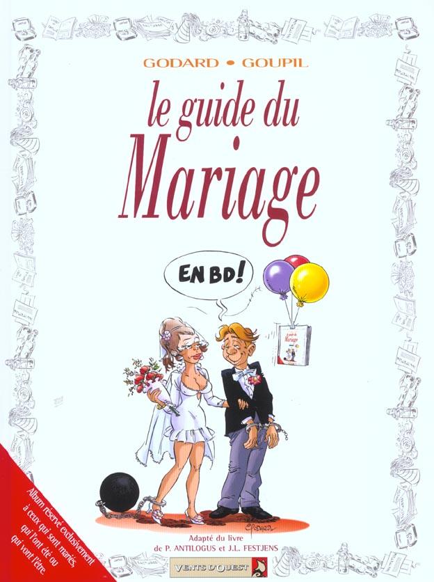 GUIDE DU MARIAGE GUIDES EN BD
