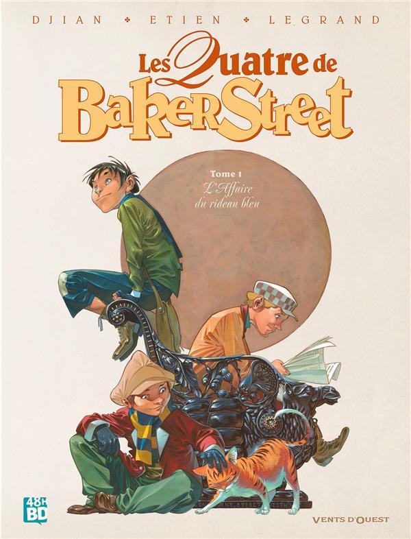 LES QUATRE DE BAKER STREET T.1  -  L'AFFAIRE DU RIDEAU BLEU