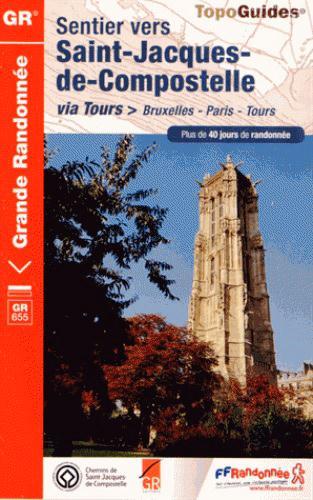 SAINT JACQUES BRUXEL TOURS 02-28-37-41-45-59-60-IDF-80 -6551  Fédération française de la randonnée