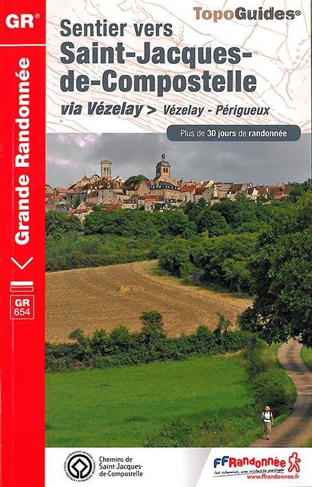 ST-JACQ VEZELAY-PERIGUEUX 2015 89-58-18-36-23-87-24-GR-6542  Fédération française de la randonnée